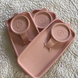 Tupperware Kitchen - Tupperware Lids Quantity of 4 EUC